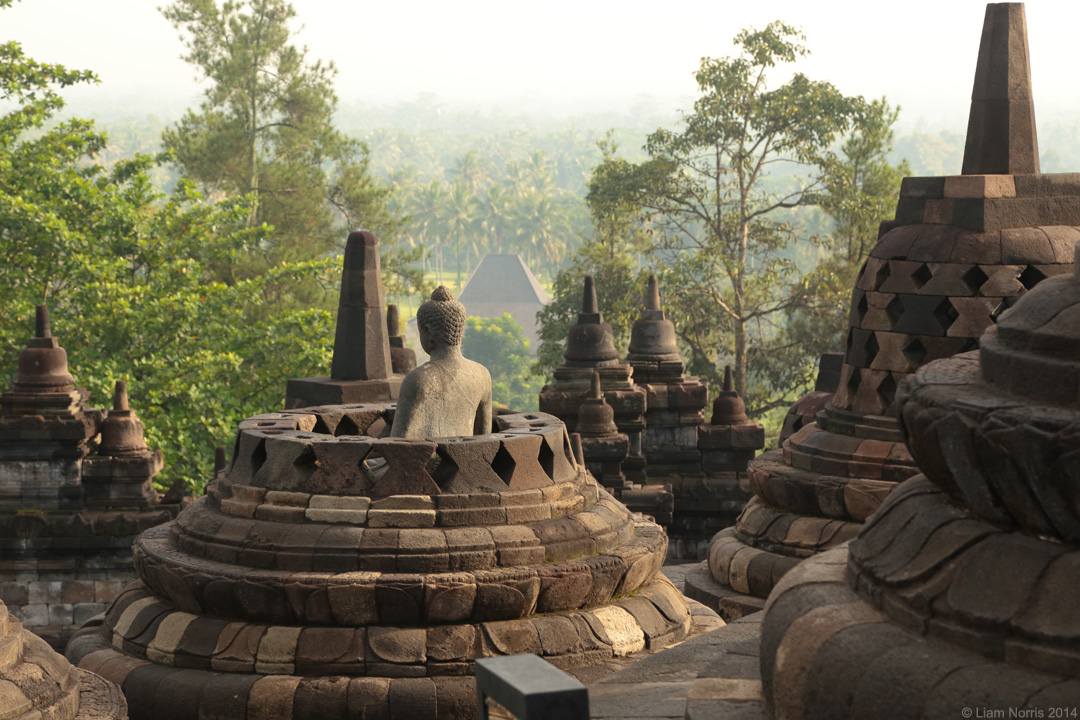 Borobodur, Java, Indonesia