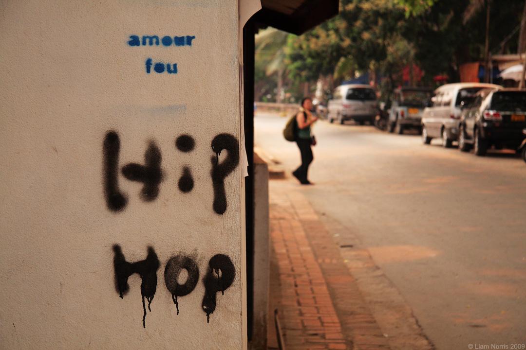 Luang Prabang Graffiti