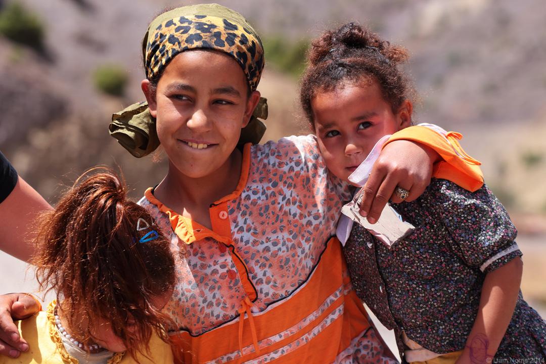 Village Kids, Atlas Mountains, Morocco