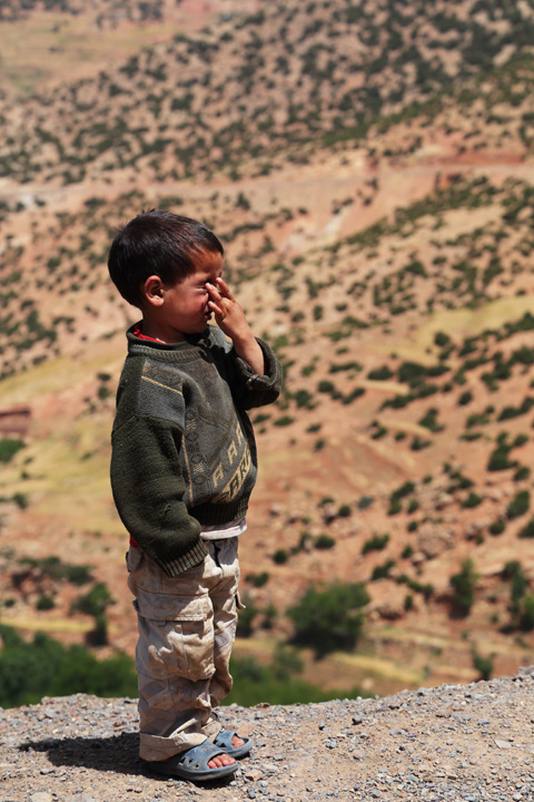 Village Kids, Atlas Mountains, Morocco